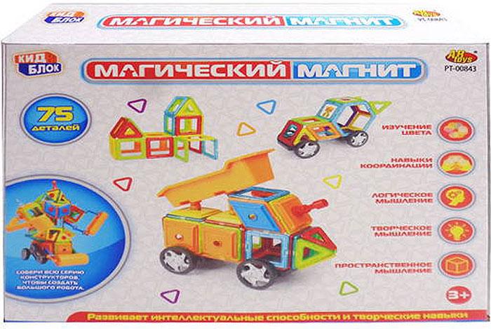 Abtoys Конструктор Магический магнит PT-00843 - Конструкторы