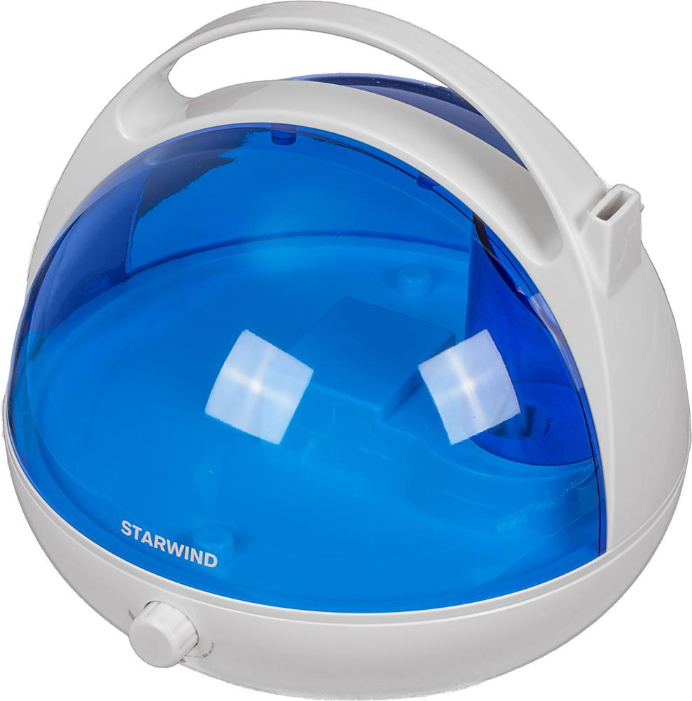 Starwind SHC2416, White Blue увлажнитель воздуха starwind shc2216 white blue увлажнитель воздуха
