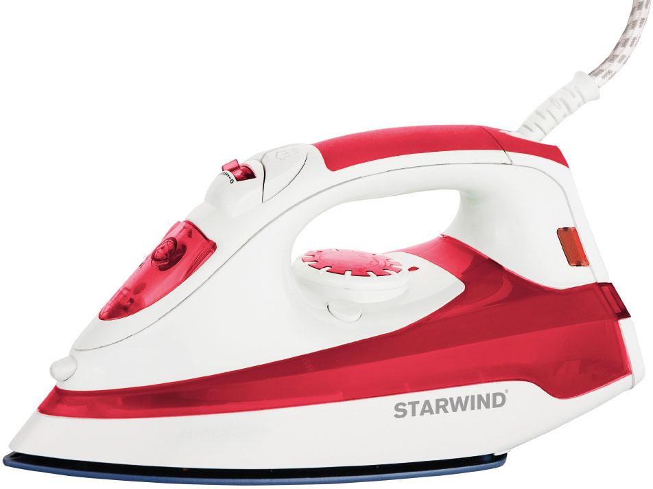 Starwind SIR5824, Red White утюгSIR5824Утюг Starwind SIR5824 2200Вт красный/белый