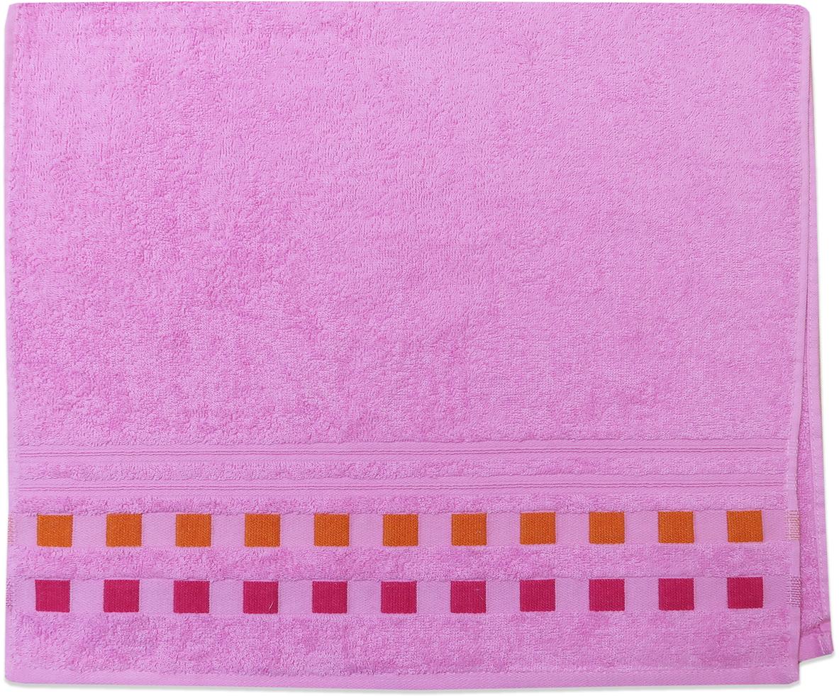 Полотенце махровое Bravo Каприз, цвет: розовый, 33 x 70 см88538Полотенце «Каприз» выполнено из натуральной махровой ткани (100% хлопок). Изделие отлично впитывает влагу, быстро сохнет, сохраняет яркость цвета и не теряет форму даже после многократных стирок. С таким полотенцем интерьер и настроение станут ярче!