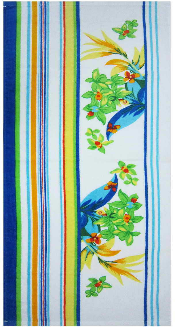 Полотенце «Цветок» выполнено из натурального хлопка. Изделие отлично впитывает влагу, быстро сохнет, сохраняет яркость цвета и не теряет форму даже после многократных стирок.  С таким полотенцем интерьер и настроение станут ярче!