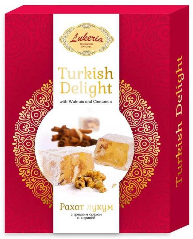 Lukeria Рахат-Лукум c грецким орехом и корицей, 250 г авторские бусы рахат лукум перламутр хрусталь