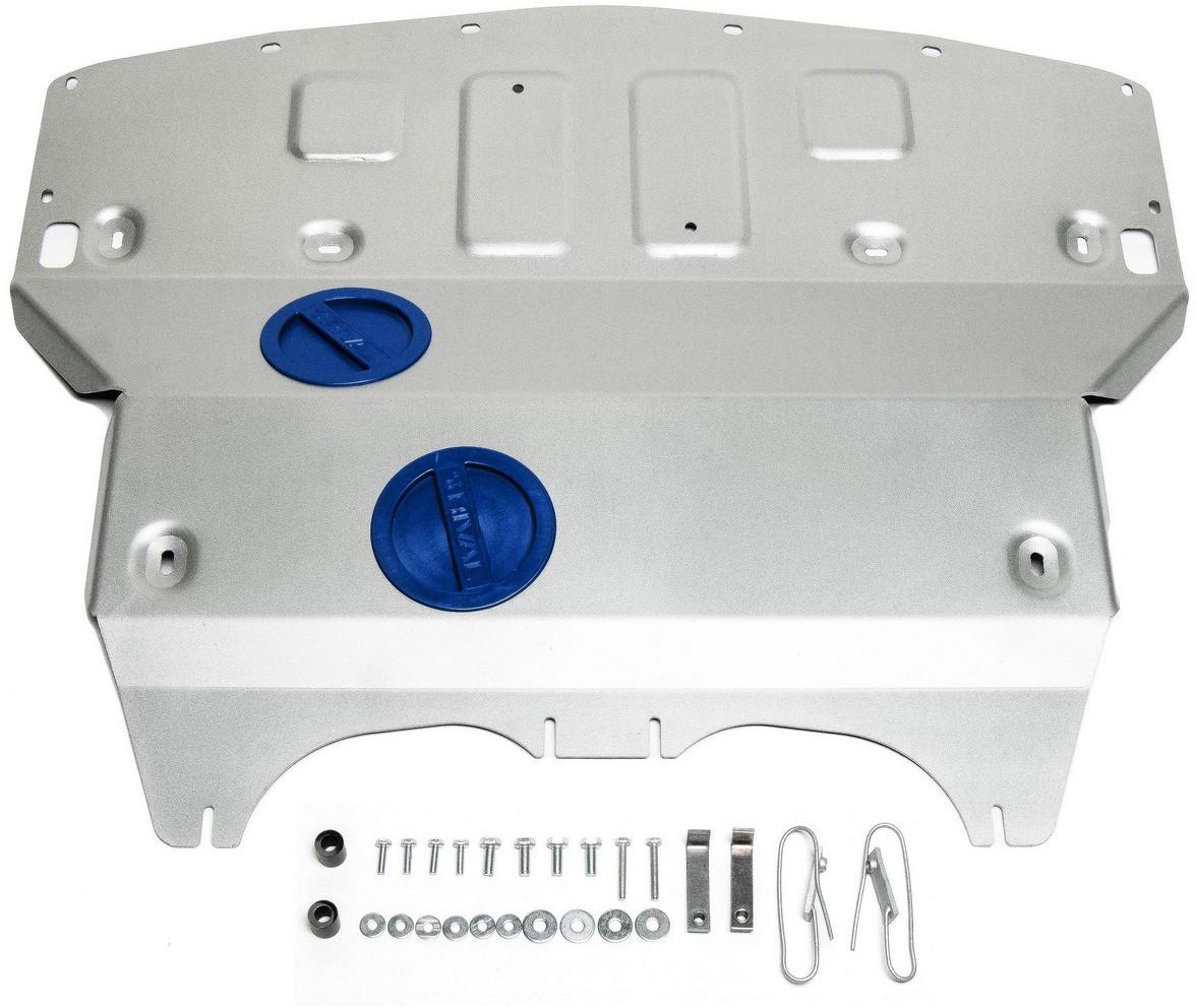 Купить Защита картера Rival для Infiniti Q50 2013- / Infiniti Q60 2017-, алюминий 4 мм