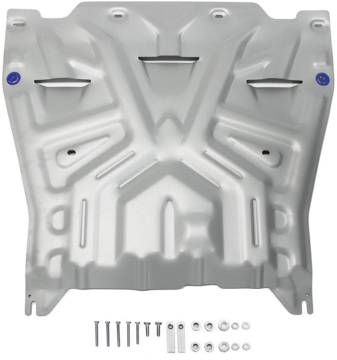 Купить Защита картера и КПП Rival для Kia Optima 2016-, алюминий 4 мм