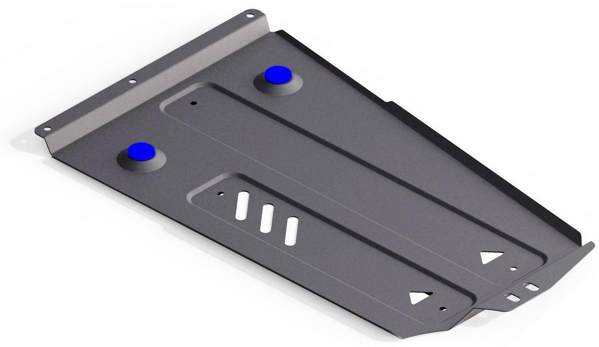 Купить Защита РК Rival для Mitsubishi Pajero IV 2006-2011 2011-, алюминий 4 мм
