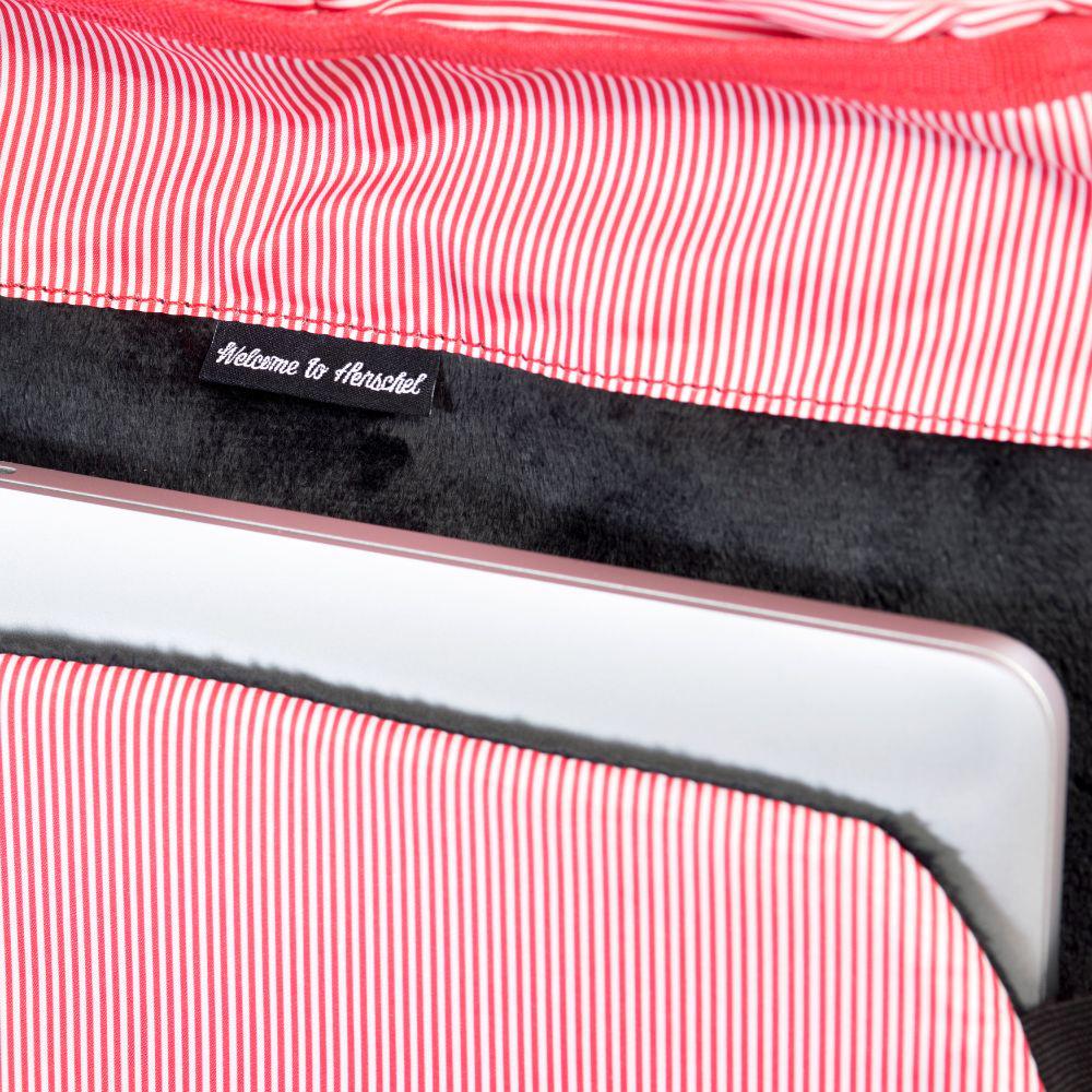 """Рюкзак Herschel """"Little America"""" одна из самых значимых моделей, соединяя классический альпинистский стиль с современной функциональностью. Модель выполнена из высококачественного материала. Основное затягивается кулиской и дополнительно закрывается клапаном на магнитные кнопки. Внешняя сторона дополнена накладным карманом. Лямки регулируются, что позволяет менять положение рюкзака на спине."""