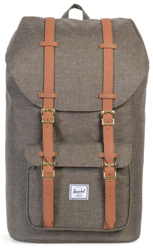Рюкзак городской Herschel Little America, цвет: светло-коричневый, 25 л рюкзак городской herschel settlement цвет светло зеленый черный 23 л 10005 01555 os