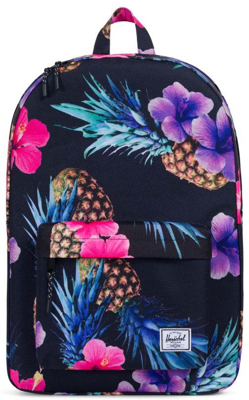Рюкзак городской Herschel Classic, цвет: черный, фиолетовый, розовый, 22 л10001_черный, фиолетовый, розовыйРюкзак Herschel Classic целиком и полностью оправдывает свое название, выражая совершенство в лаконичных и идеальных линиях. Этот рюкзак создан для любых целей и поездок, а также отлично впишется в абсолютно любой стиль. Особенности: Ручка для переноски. Регулируемые лямки. Основной отсек на молнии. Внешний карман на молнии. Нашивка с фирменным логотипом на кармане. Объем: 22 л.