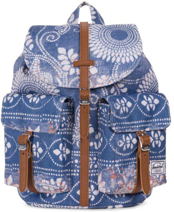 Рюкзак городской Herschel Dawson, цвет: синий, белый, 20,5 л рюкзак городской herschel parker цвет хаки 19 л