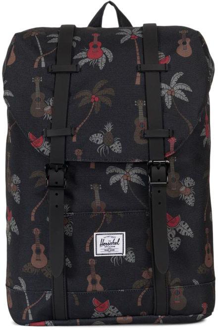 Рюкзак детский Herschel Retreat Youth, цвет: черный, красный, 14 л рюкзак herschel settlement pelican floria