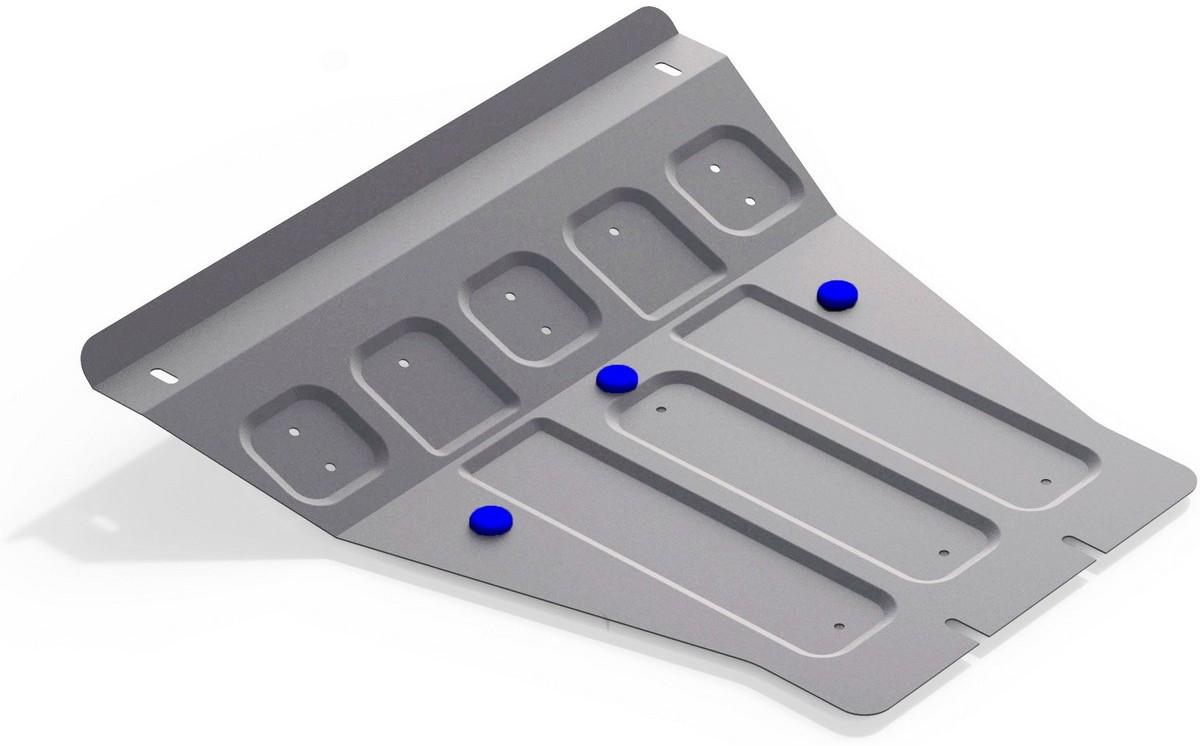 Защита картера Rival для Ssang Yong Kyron 2007-, алюминий 4 мм