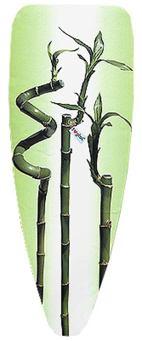 Чехол для гладильной доски Бамбук, 132 х 48 см12030022 бамбукЧехол для гладильной доски Бамбук, выполненный из хлопка с подкладкой из мягкого нетканого материала, предназначен для защиты или замены изношенного покрытия гладильной доски. Чехол снабжен стягивающим шнуром, при помощи которого вы легко отрегулируете оптимальное натяжение чехла и зафиксируете его на рабочей поверхности гладильной доски. Этот качественный чехол обеспечит вам легкое глажение. Характеристики:Материал чехла: 100% хлопок. Материал подкладки: 100% полиэстер. Размер чехла: 132 см х 48 см. Чехол подходит для досок до 122 см x 38 см. Изготовитель: Италия. Артикул: 12030022.