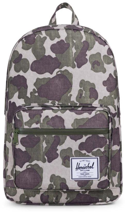 Рюкзак городской Herschel Pop Quiz, цвет: хаки, 22 л10011-01858-OSВ этом рюкзаке классические линии оформлены в аккуратную упаковку, чтоделает рюкзак Herschel Pop Quiz отличным вариантом для учебы или работы.Он снабжен мягким отсеком с флисовой подкладкой для 15-дюймовогоноутбука, а для мелочей и канцелярских принадлежностей имеется внешнийкарман на молнии со встроенным сетчатым органайзером. Особенности: Основной отсек на молнии. Внутренний карман с флисовой подкладкой для 15-дюймового ноутбука. Внутренний медиа-карман с портом для провода. Внешний карман на молнии со встроенным сетчатым органайзером. Нашивка с фирменным логотипом на кармане. Влагостойкая молния. Ручка для переноски. Регулируемые лямки. Верхний внешний карман с флисовой подкладкой для очков. Объем: 22 л.