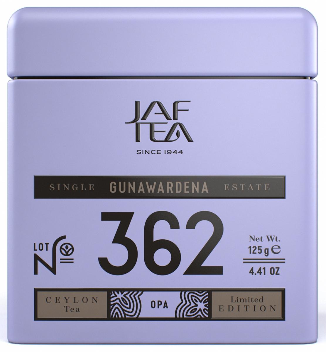 Jaf Tea Single Estate Gunawardena чай черный листовой, 125 г4791038033189GUNAWARDENA – это фамилия семьи чайного производителя, который находится в южном шриланкийском городе Akuressa на предгорьях чайного региона Ruhuna. Здесь во влажном жарком климате с обильными осадками, густо растут чайные кусты, гораздо быстрее, чем в высокогорье. Такие листья по размеру больше и сочнее - идеальные для сорта OPA (Orange Pekoe A) – самый длиннолистовой из цейлонских сортов чая. Этот чай с тёмно-чёрными длинными листьями один из видов чая сорта OPA. Наши чайные эксперты любят этот чай за среднюю крепость, душистый аромат и похожий на карамель вкус.