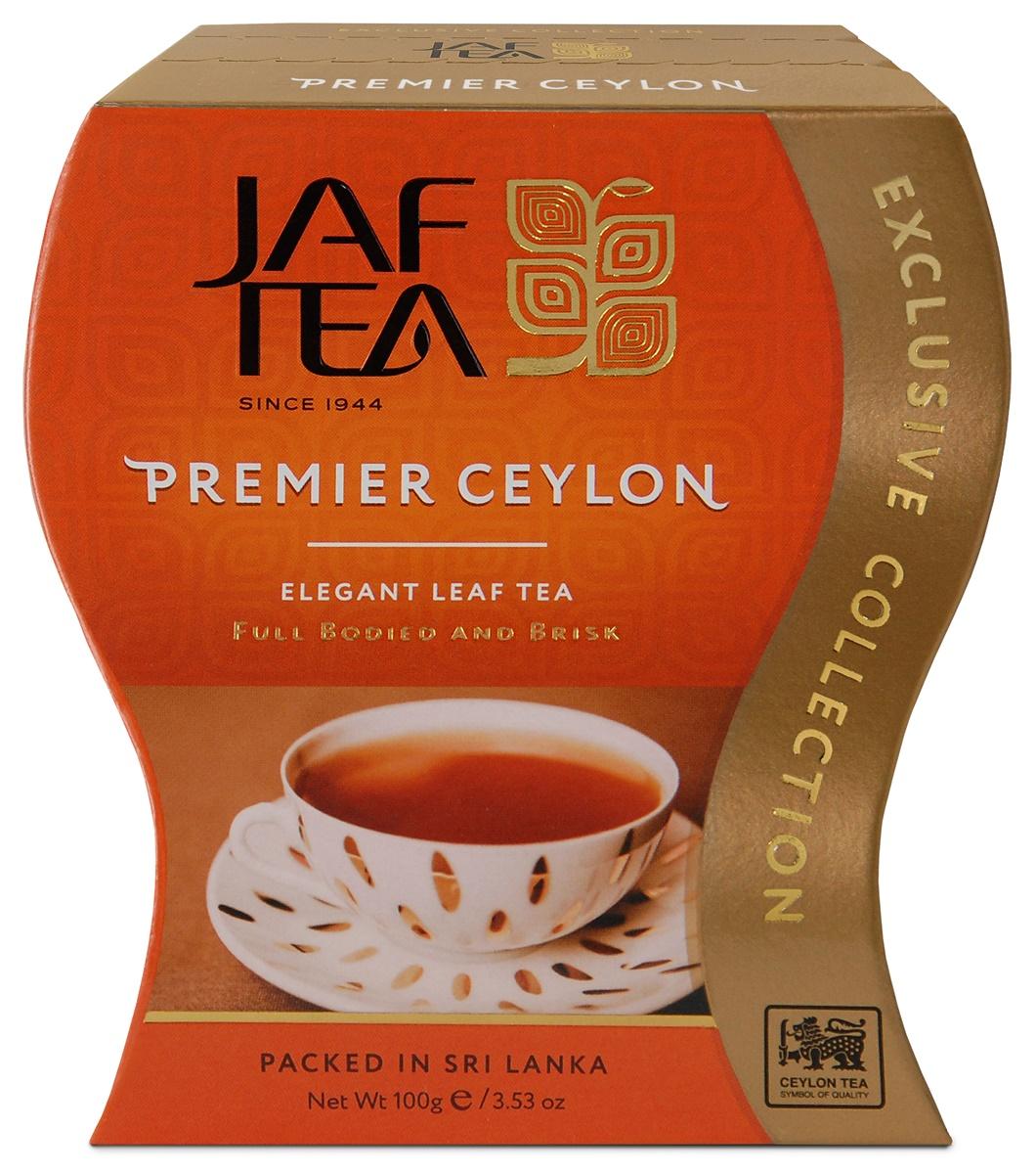 Jaf Tea Premier Ceylon сорт FBOP чай черный листовой, 100 г mabroc эрл грей чай черный листовой 100 г