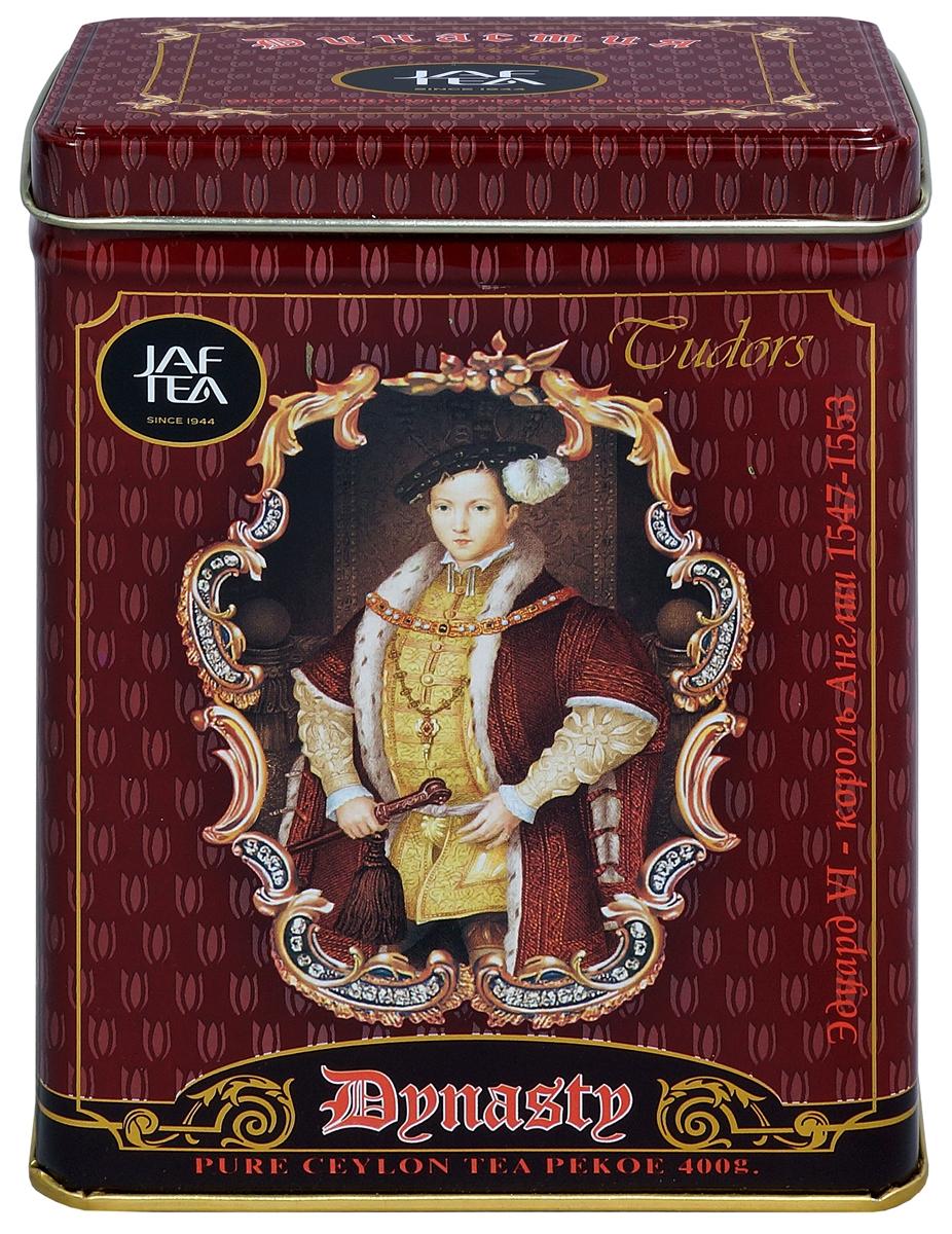 цена на Jaf Tea Династия сорт Pekoe чай черный крупнолистовой, 400 г