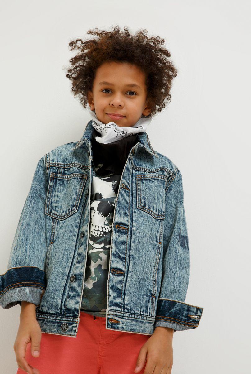 Куртка для мальчика Acoola Vale, цвет: синий. 20110130134_500. Размер 170 толстовка для мальчика acoola corbusier цвет синий 20110170041 500 размер 152
