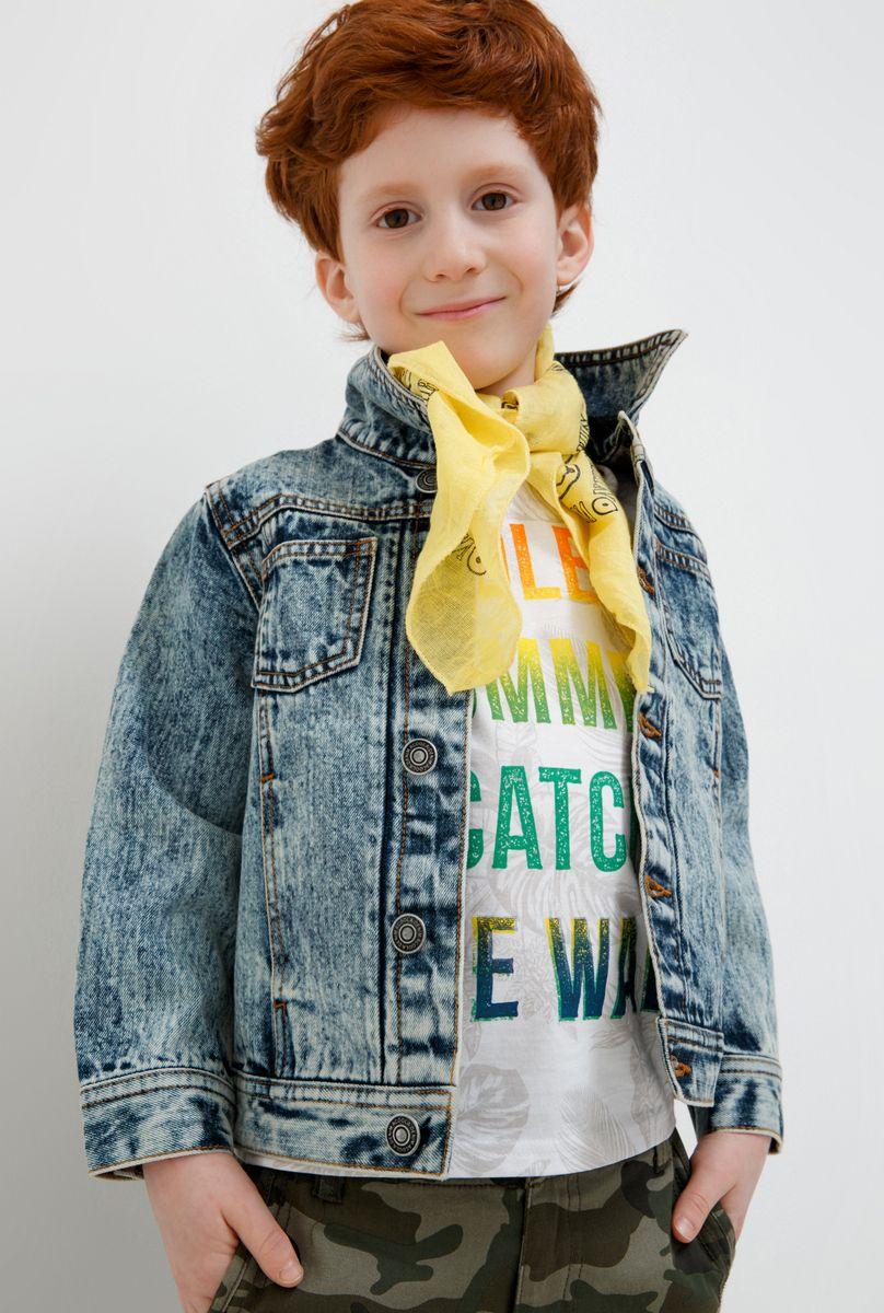 Куртка для мальчика Acoola Vale, цвет: синий. 20120130121_500. Размер 128 жакет для мальчика acoola sega цвет синий 20120130114 500 размер 128