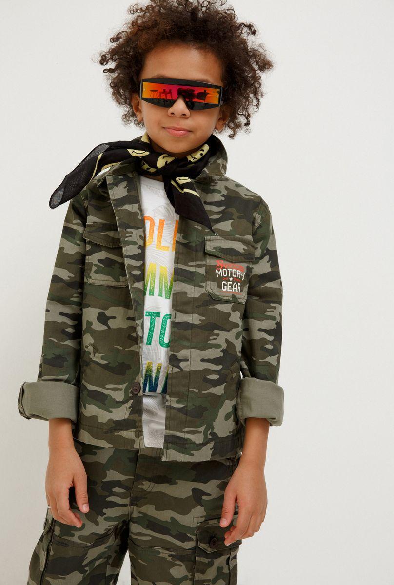 Куртка для мальчика Acoola Durian, цвет: хаки. 20110130138_8000. Размер 170