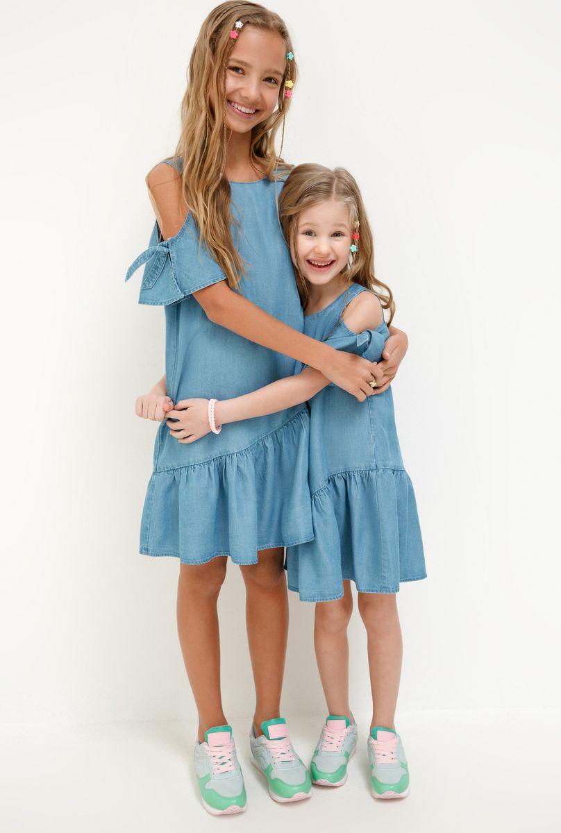 Платье для девочки Acoola Lupuna, цвет: синий. 20220200253_500. Размер 116 платье overmoon by acoola overmoon by acoola ov003eguci55