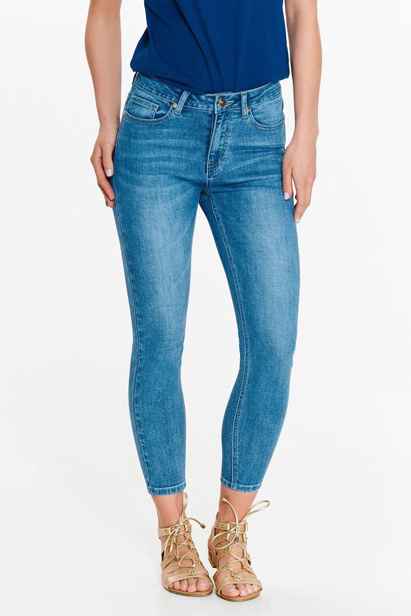 Джинсы женские Top Secret, цвет: синий. SSP2815NI. Размер 42 (50) джинсы женские top secret цвет синий ssp2690ni размер 42 50