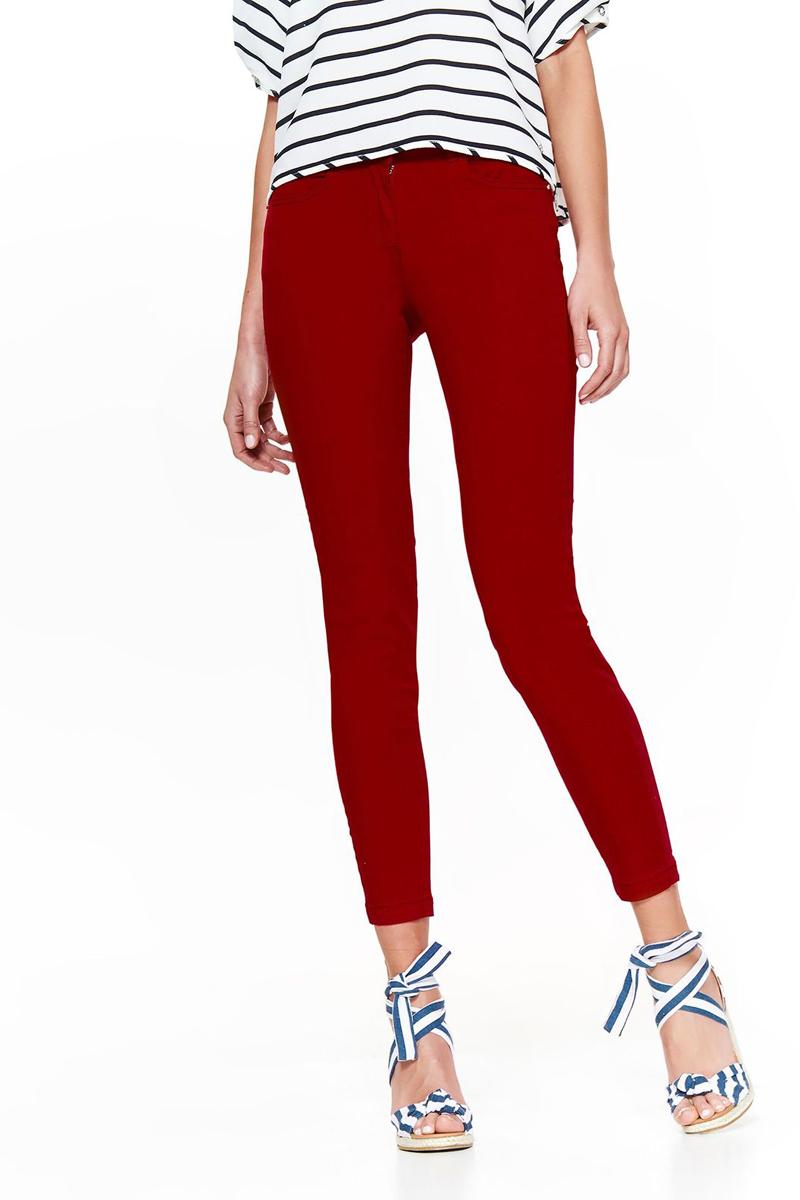 Брюки женские Top Secret, цвет: красный. SSP2820CE. Размер 42 (50) брюки женские top secret цвет красный ssp2820ce размер 42 50