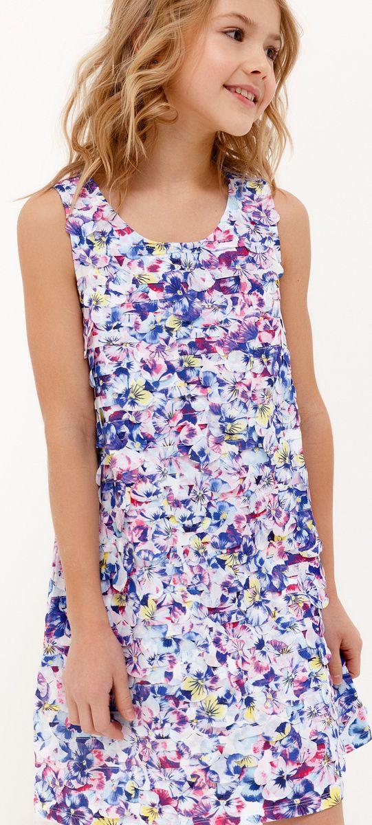 Платье для девочки Acoola Orion, цвет: мультиколор. 20210200225_8000. Размер 164 платье overmoon by acoola overmoon by acoola ov003eguci55