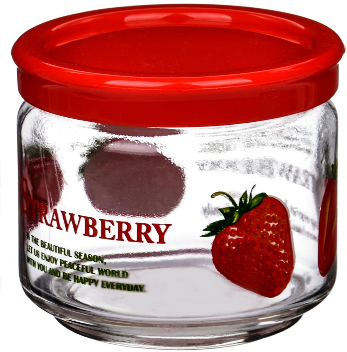 Банка для сыпучих продуктов LY, цвет: красный, 300 млLY211T_2Банка для сыпучих продуктов LY изготовлена из прочного стекла. Прозрачныестенки позволяют видеть содержимое. Внешняя поверхность декорированаярким рисунком. Банка снабжена закручивающейся крышкой из прочного пластика. Изделие подходит для хранения разнообразных сыпучих продуктов, таких каккрупы, сахар, соль, чай, кофе и многое другое. Банка сбережет ваши продукты отвлаги, пыли и насекомых и надолго сохранит их свежими.Банки рекомендуется мыть вручную, без жесткого абразива. Не подвергатьрезкому перепаду температур.