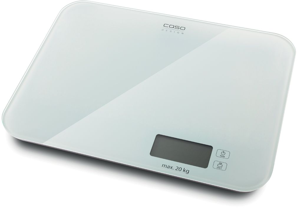 CASO L 20, White кухонные весы wh b10 2 6 lcd electronic kitchen scale w bowl white beige 2 x aaa