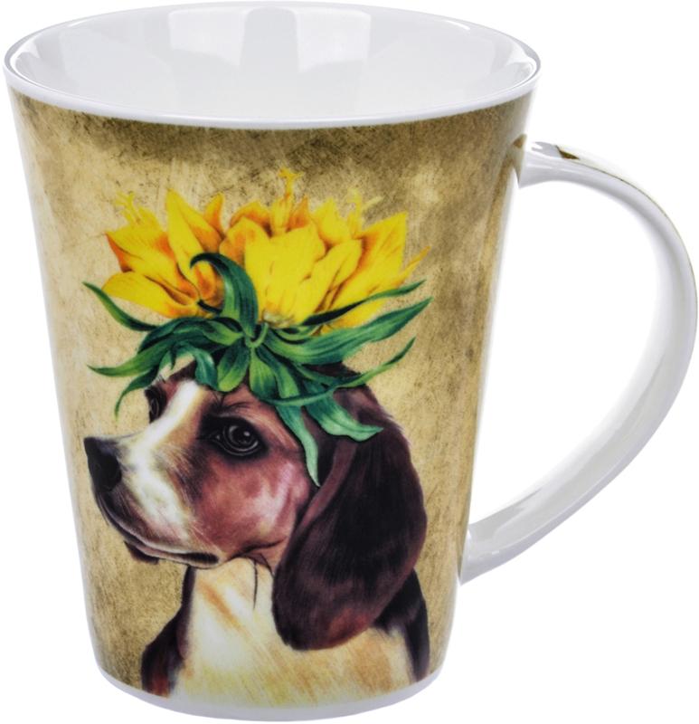 Кружка Liling Quanhu Зверята. Собака, 380 млLQB18-LE0010_2Кружки Quanhu - глянцевые кружки из молочно-белого фарфора с цветными деколями. Гладкие, устойчивые, с удобной широкой ручкой. Одинаково хороши для горячих и холодных напитков. Поскольку кружка отражает индивидуальность своего владельца, вы сами выбираете, какими вас будут воспринимать окружающие. Нежные, в сдержанных тонах, или яркие футуристические, буйство красок и фантазии. Для офиса и для дома. Для компании, семьи. Хороший подарок коллегам и близким. Кружки можно использовать в СВЧ и мыть в ПММ.