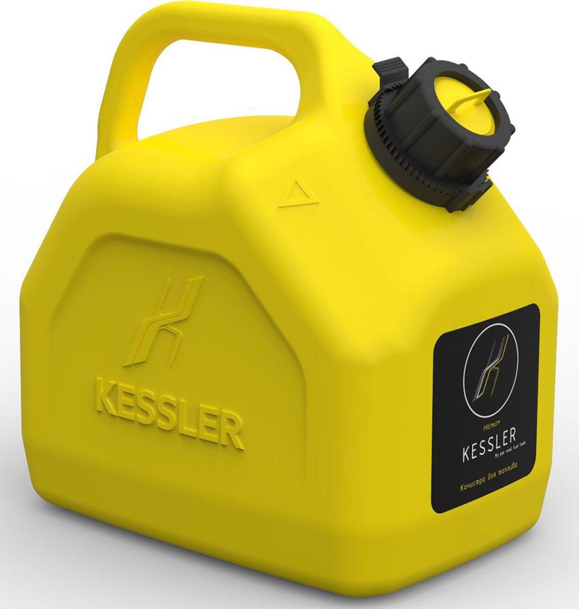 Канистра для топлива Kessler Oktan Premium, 5 л канистра пластиковая для гсм 10л 62 4 009