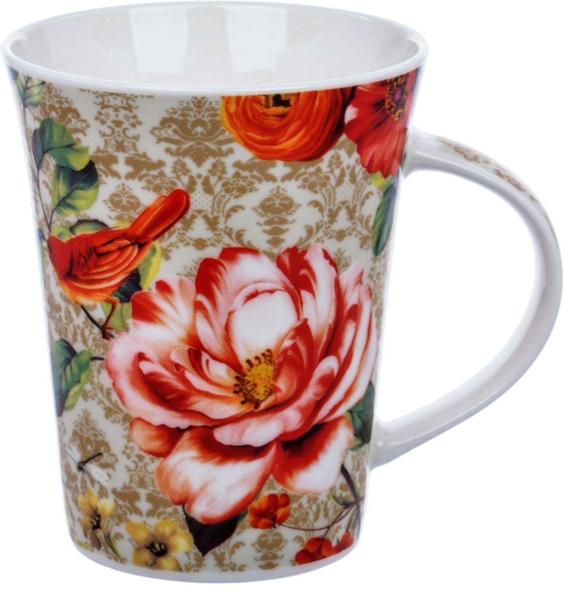 Кружка Liling Quanhu Райский цветок. Дизайн 2, 380 мл кружка liling quanhu медведи на даче дизайн 1 380 мл