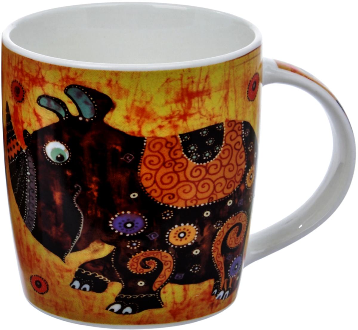 Кружка Liling Quanhu Удивительные звери. Носорог, 355 мл кружки из императорского фарфора купить в спб