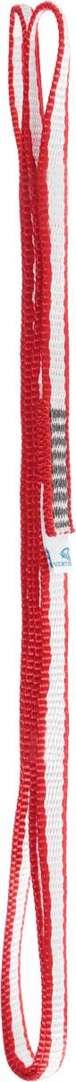 """Петля станционная Vento """"Лайт"""" шириной 10 мм обладает наименьшим весом при сохранении высоких прочностных характеристик. Нити ленты выполнены из высокопрочного волокна Dyneema. Петля Vento идеальна для использования в длительных экспедициях. Характеристики:Материал: DyneemaДлина: 80 смМасса: 26 г."""