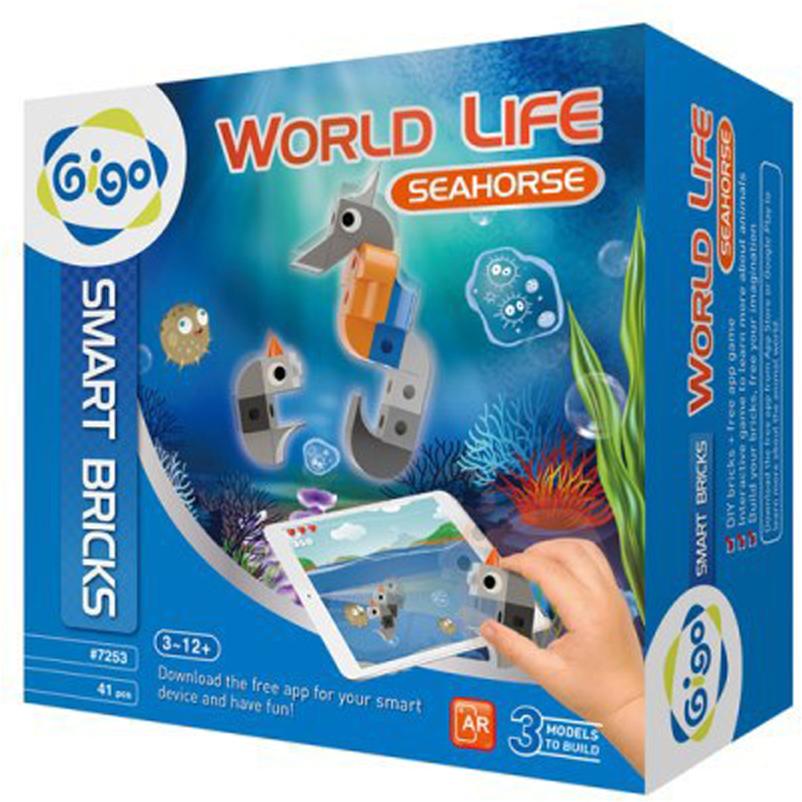 Gigo Конструктор Животный мир Морской конек стилус iphone ipad