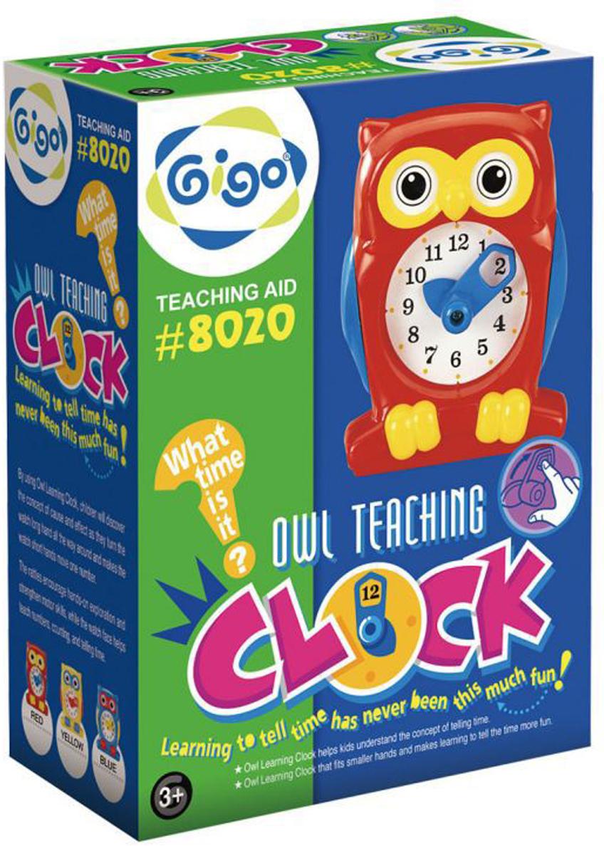 Gigo Конструктор Часы Сова gigo конструктор standing magnetik teaching clock гиго большие часы
