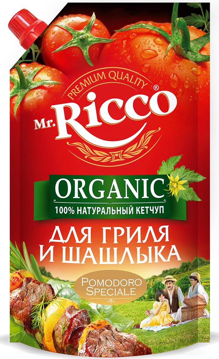 Кетчуп Mr.Ricco ORGANIC Pomodoro Speciale – 100% натуральный кетчуп, без загустителей и без добавления крахмала.Mr.Ricco – это первый российский бренд, который стал использовать в своем производстве новую для Российского рынка технологию приготовления кетчупа.