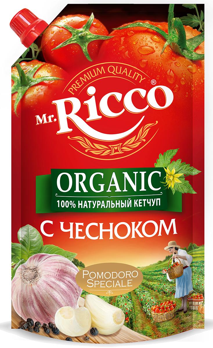 Mr.Ricco Pomodoro Speciale Кетчуп с чесноком, 350 г соярус кетчуп соевый острый 275 г