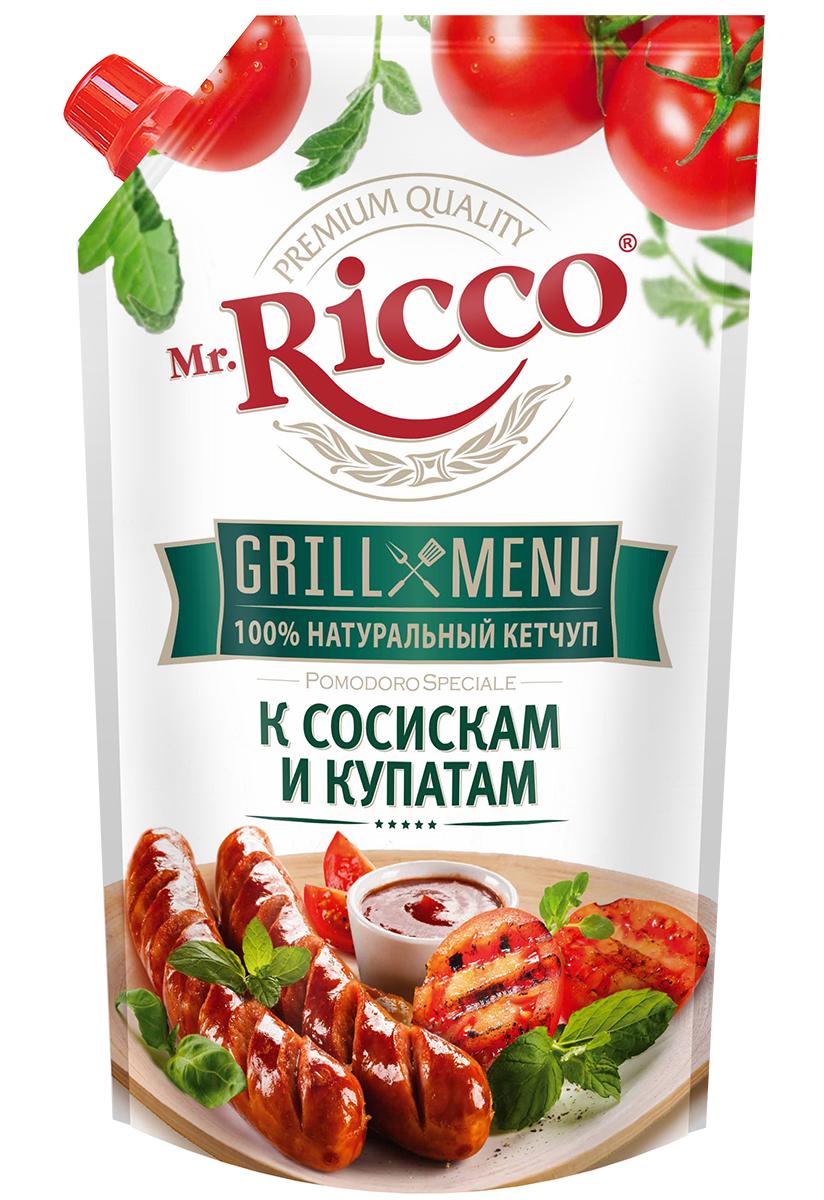Mr.Ricco Grill Menu Кетчуп к сосискам и купатам, 350 г