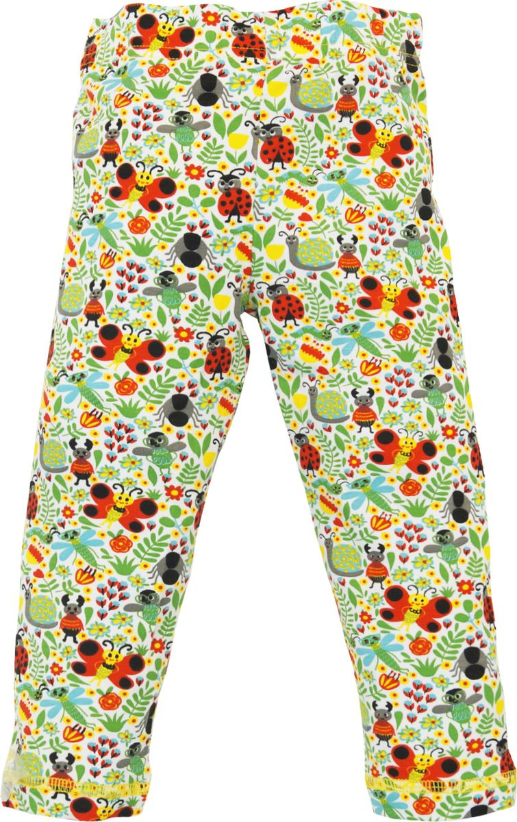 Леггинсы для девочки Let's Go, цвет: белый. 10175. Размер 86 спортивный костюм для девочки let s go цвет фиолетовый 11114 размер 164