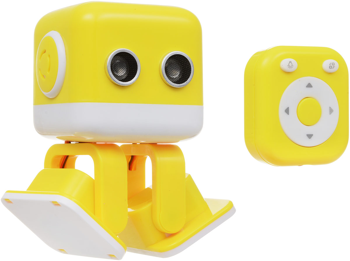 WLTech Cubee, Yellow интеллектуальная колонка-робот