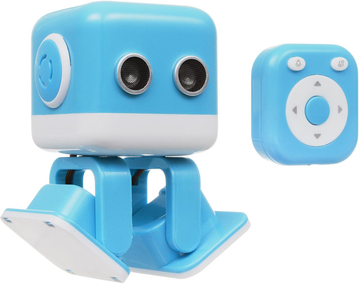 WLTech Cubee, Blue интеллектуальная колонка-робот