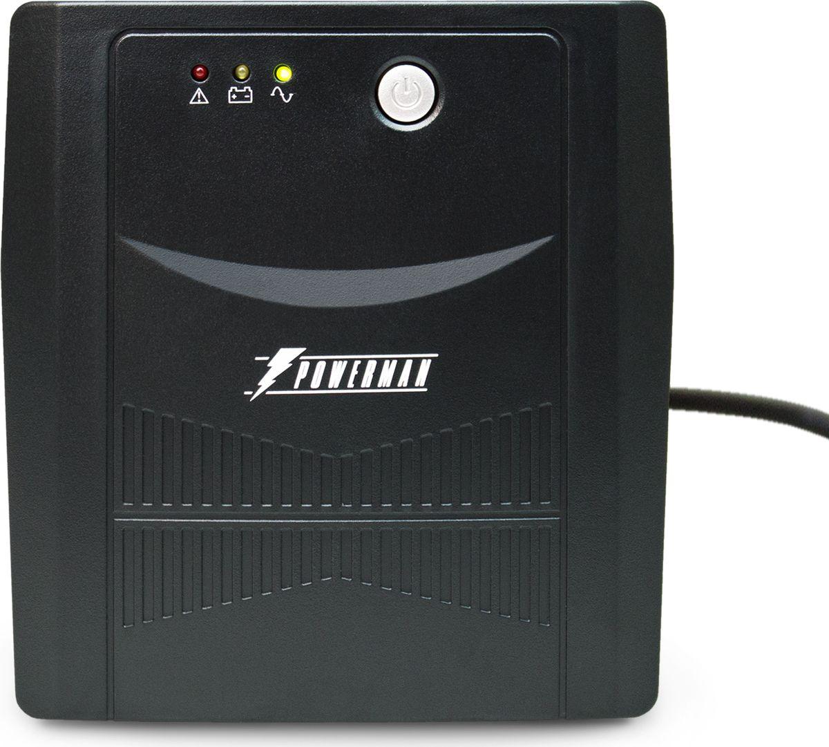 """Источник бесперебойного питания Powerman """"UPS Вack Pro 1000"""", 1000 ВА"""