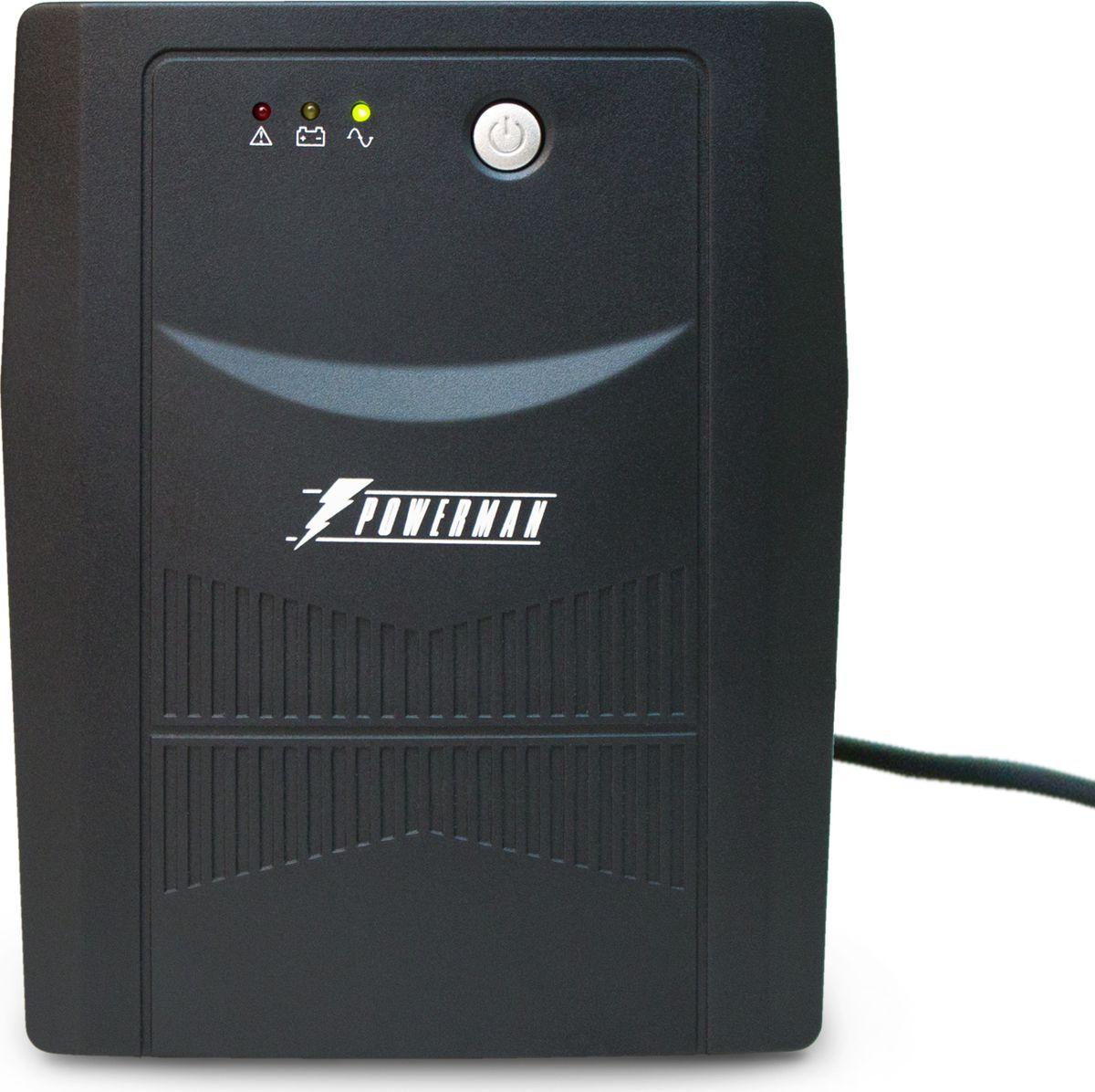 Источник бесперебойного питания Powerman UPS Вack Pro 2000, 2000 ВА источник бесперебойного питания ippon back power pro lcd 600