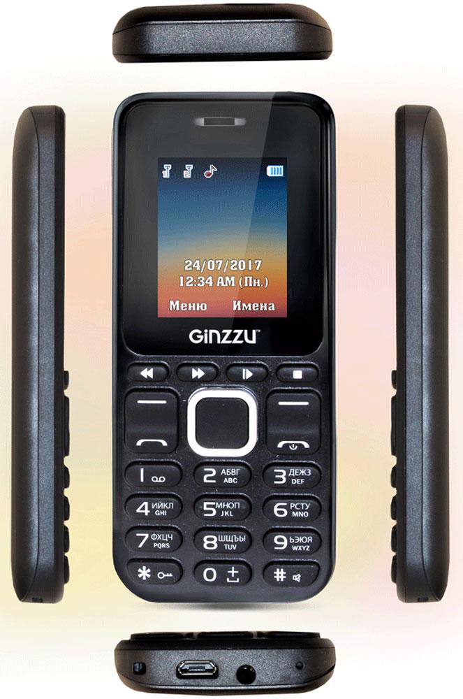 Ginzzu M102D Mini, Black Ginzzu