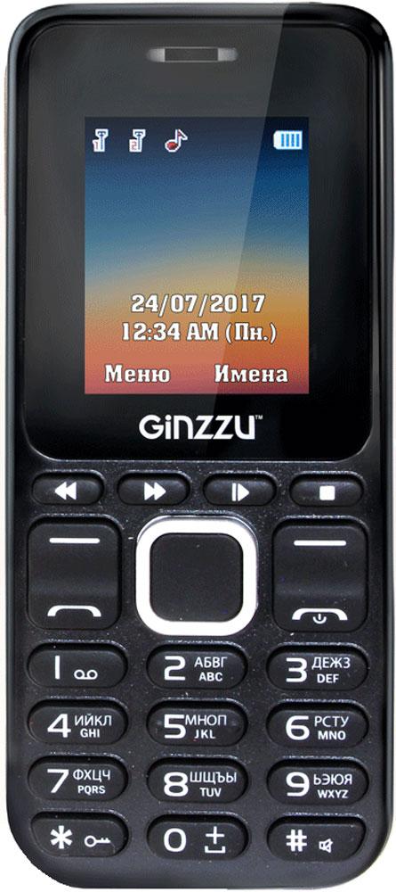 Ginzzu M102D Mini, Black