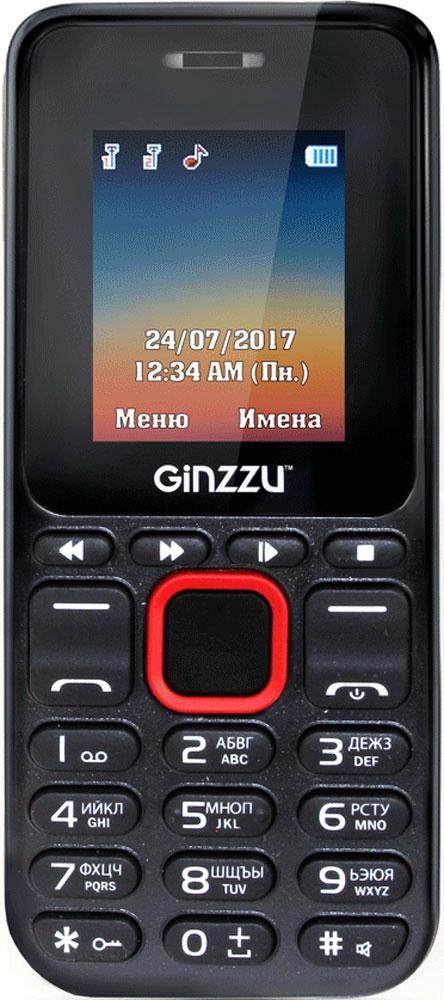 Ginzzu M102D Mini, Black Red