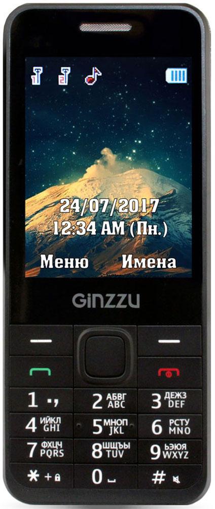 Ginzzu M108D, Black