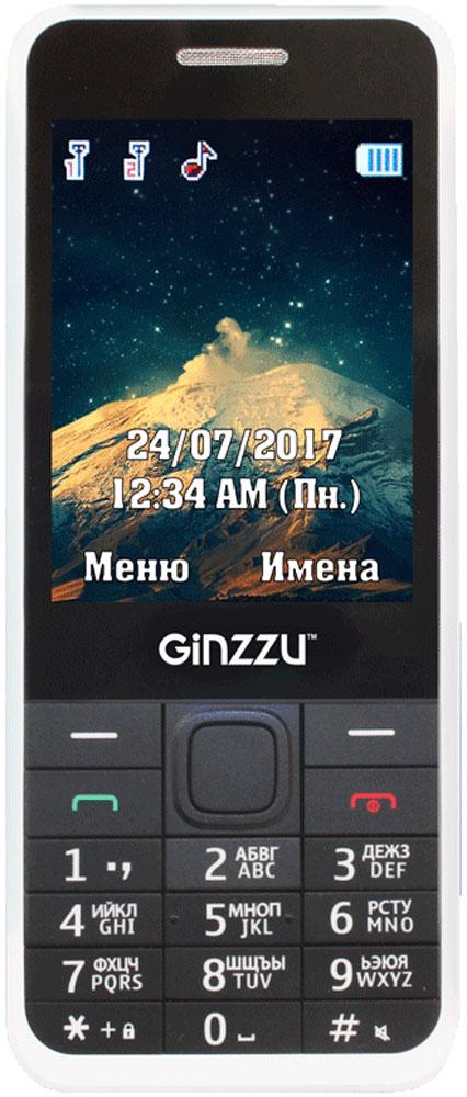 Ginzzu M108D, WhiteGNZ-M108D-WHTМобильный телефон Ginzzu M108D - доступный по цене девайс с поддержкой двух сим-карт. Эта модель легка в освоении даже для пожилогочеловека и отлично подойдет для школьников младших классов.Не нужно всматриваться. На ярком цветном дисплее демонстрируется достаточно крупный шрифт, который имеет высокую разборчивость.Людям со слабым зрением не придется всматриваться и просить помощи у прохожих. Для этого же предназначены и широкие кнопки сконтрастными большими цифрами. Представитель старшего поколения и малолетний школьник без труда смогут набрать телефон нужногоабонента. С помощью встроенного фонарика можно подсветить себе путь в темном подъезде, а также встроенный FM-приемник для тех, кто не желаетрасставаться с музыкой.Телефон сертифицирован EAC и имеет русифицированную клавиатуру, меню и Руководство пользователя.