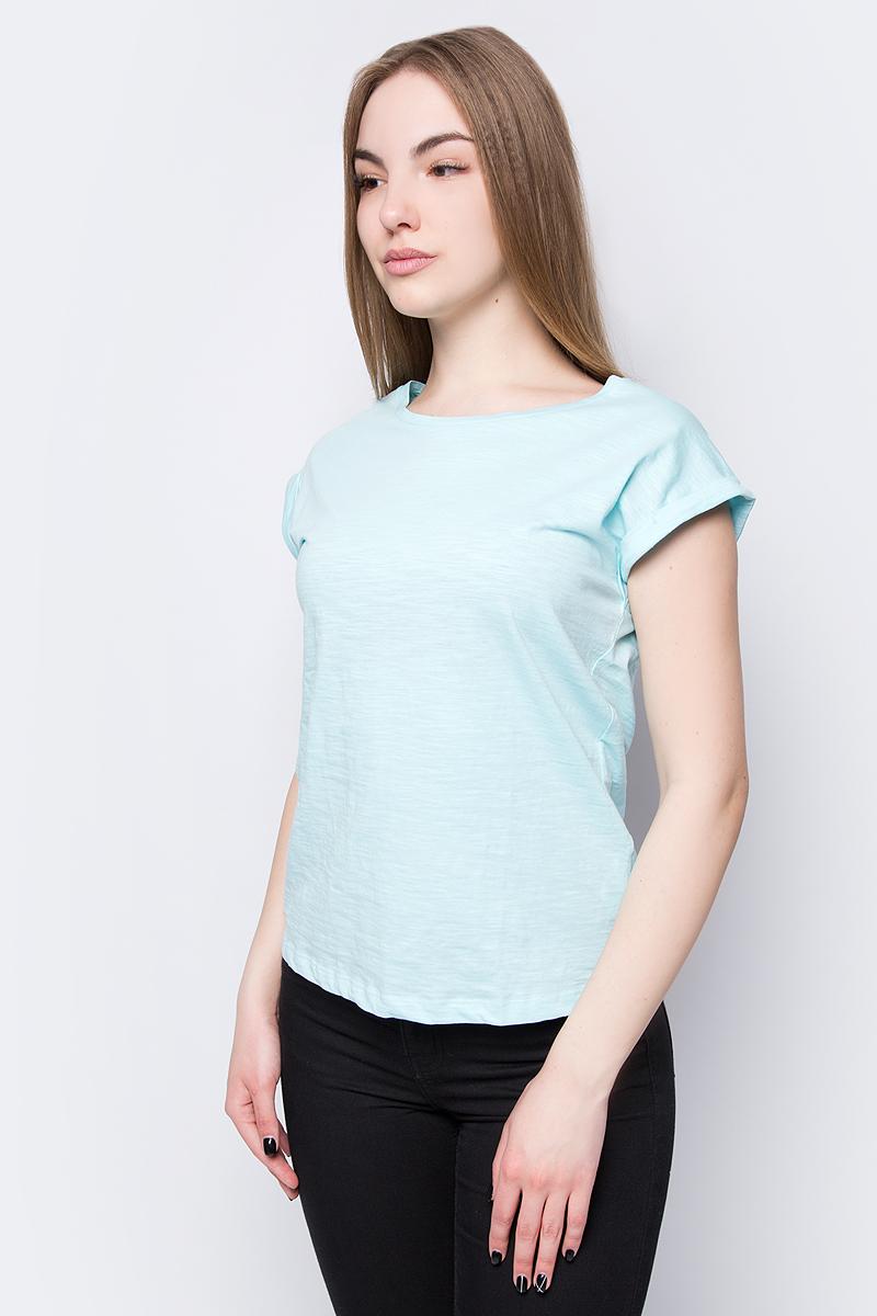 Футболка женская Sela, цвет: голубой. Ts-111/344-8273. Размер XXL (52)